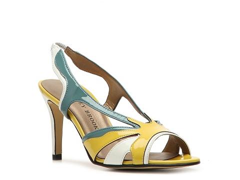 Sandale Audrey Brooke - Electa Sandal - Yellow/Blue
