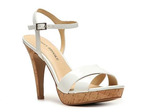 Sandale Audrey Brooke - Olena Platform Sandal - White