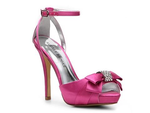 Sandale Audrey Brooke - Stacey Platform Sandal - Pink