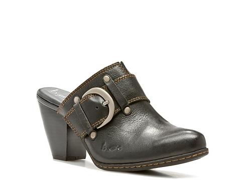 Pantofi b.o.c - Suzi Clog - Black Leather