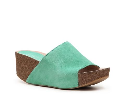 Sandale Chelsea Crew - Queen Wedge Sandal - Turquoise