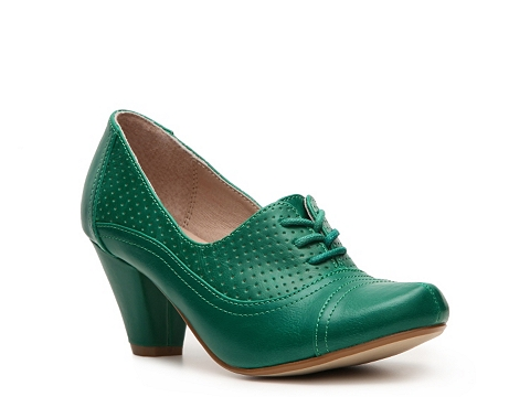 Pantofi Chelsea Crew - Maytal Oxford Pump - Green