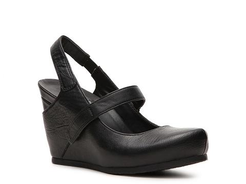 Pantofi Crown Vintage - Deny Wedge Pump - Black