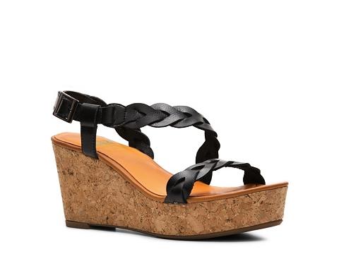 Sandale Crown Vintage - Dryden Wedge Sandal - Black