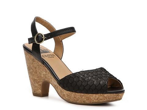 Sandale Crown Vintage - Penelope Platform Sandal - Black