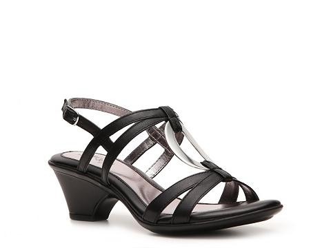 Pantofi Eurosoft - Santini Sandal - Black