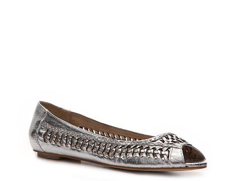Balerini Envy - Chatter Box Flat - Silver