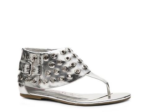 Sandale Heart Soul - Mea Flat Sandal - Silver