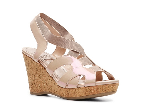Sandale Impo - Ongie Wedge Sandal - Pink Pearl