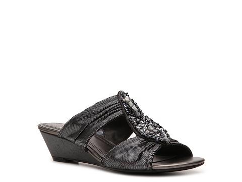 Sandale Impo - Geo Wedge Sandal - Pewter