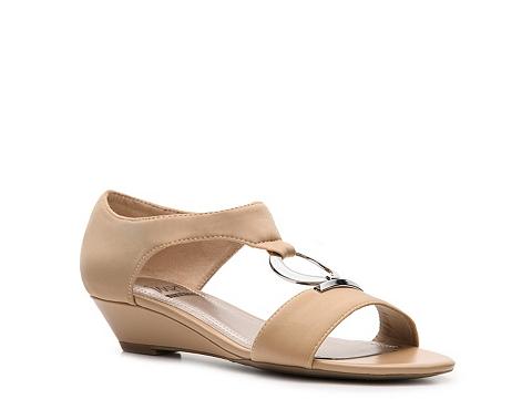 Sandale Impo - Riley Wedge Sandal - Beige