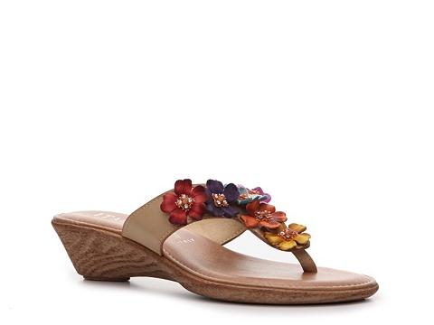 Sandale Italian Shoemakers - Giggle Wedge Sandal - Multi brights