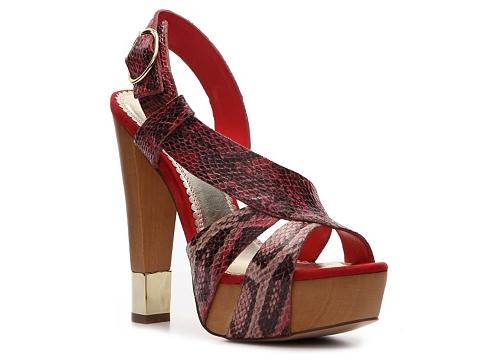Sandale Sole Obsession - Aesop Sandal - Red Multi