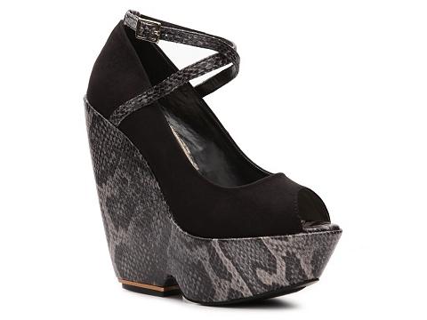 Pantofi Sole Obsession - Grahamy-01 Wedge Pump - Black