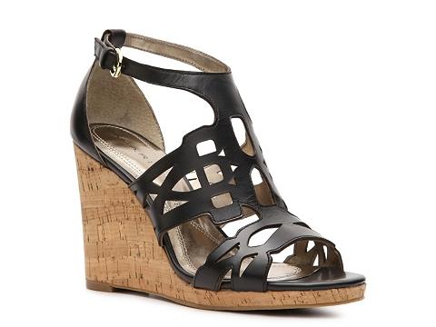 Sandale Tahari - Wyne Wedge Sandal - Black