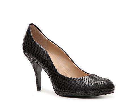 Pantofi Tahari - Colette Reptile Pump - Black