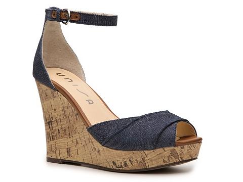 Sandale Unisa - Monet Wedge Sandal - Blue