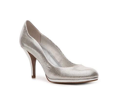 Pantofi Tahari - Colette Metallic Pump - Silver