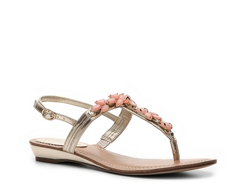 Sandale Unisa - Lady Flat Sandal - Gold/Pink