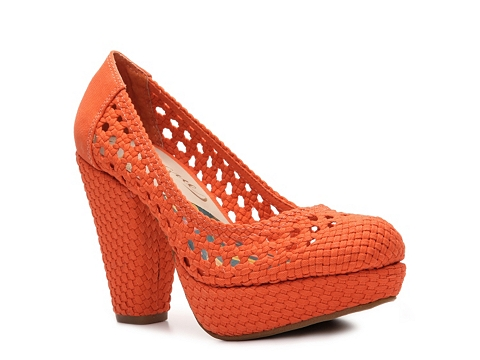 Pantofi Vogue - CA-Million Platform Pump - Orange