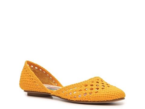 Balerini Vogue - Prairie Angel Flat - Mustard Yellow