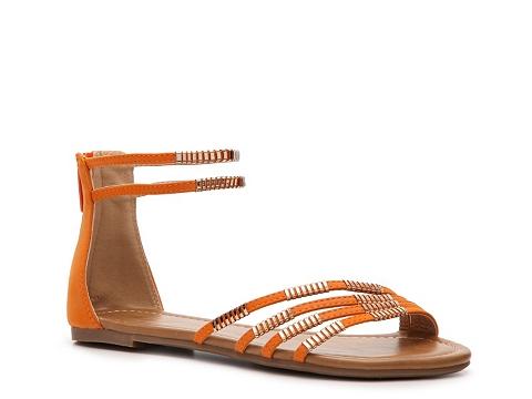 Sandale Wanted - Acapulco Flat Sandal - Orange