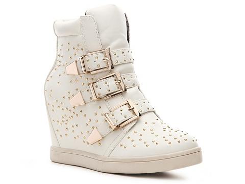 Adidasi Wanted - Gramercy Wedge Sneaker - White