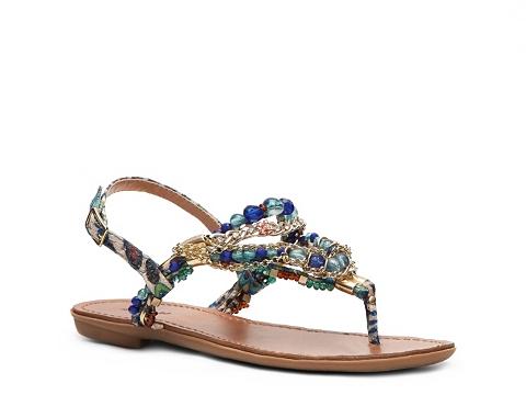 Sandale Zigi Soho - Precious Flat Sandal - Blue