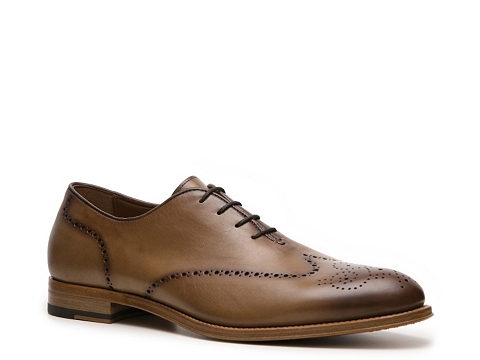Pantofi Antonio Maurizi - Puzo Wingtip Oxford - Burnished Light Brown