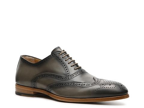 Pantofi Antonio Maurizi - Paulo Wingtip Oxford - Grey