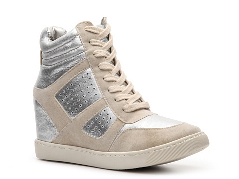 Adidasi Wanted - Wooster Wedge Sneaker - Silver