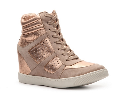 Adidasi Wanted - Wooster Wedge Sneaker - Rose gold