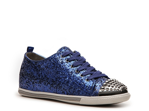 Adidasi Wanted - Broome Glitter Sneaker - Blue Glitter