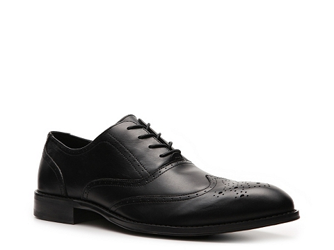 Pantofi Aston Grey - Mercer Wingtip Oxford - Black
