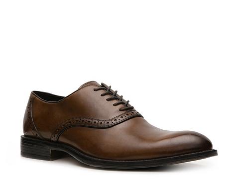 Pantofi Aston Grey - Drake Oxford - Tan