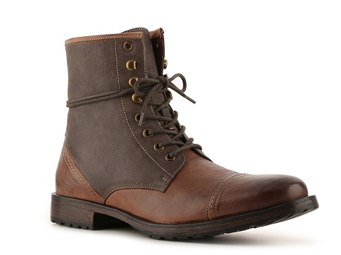 Pantofi Aston Grey - Redwood Boot - Brown/Stone Grey