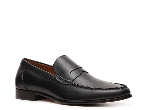 Pantofi Aston Grey - Armato Loafer - Black