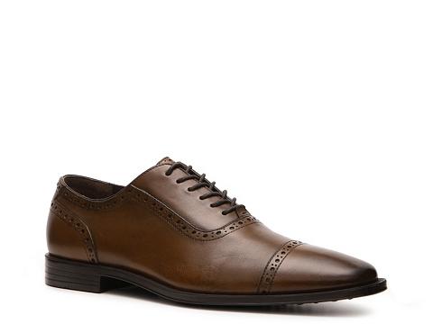Pantofi Aston Grey - Hunter Oxford - Cognac