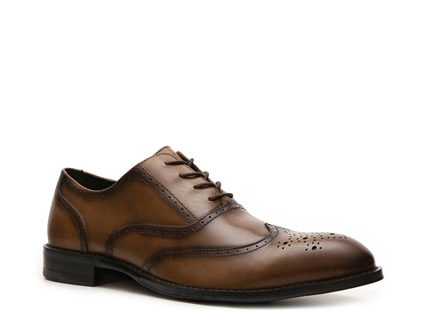 Pantofi Aston Grey - Mercer Wingtip Oxford - Brown