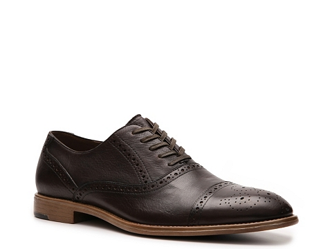 Pantofi Aston Grey - Crocket Oxford - Dark Brown