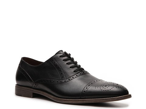 Pantofi Aston Grey - Crocket Oxford - Black