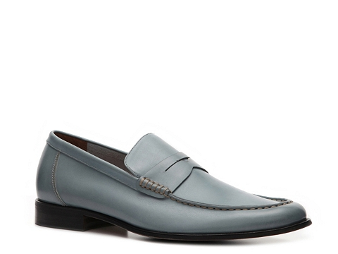 Pantofi Aston Grey - Armato Loafer - Blue