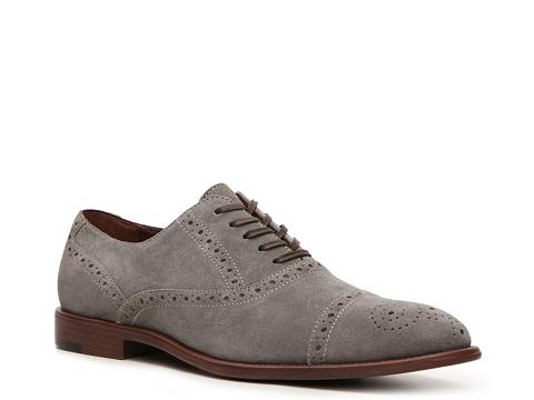 Pantofi Aston Grey - Crocket Oxford - Grey/Brown
