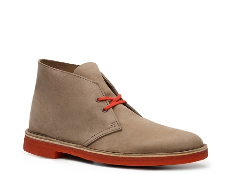 Ghete Clarks Originals - Desert Boot - Taupe/Orange