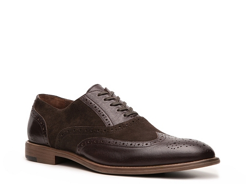 Pantofi Aston Grey - Cobb Wingtip Oxford - Brown