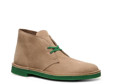 Ghete Clarks Originals - Desert Boot - Tan/Green