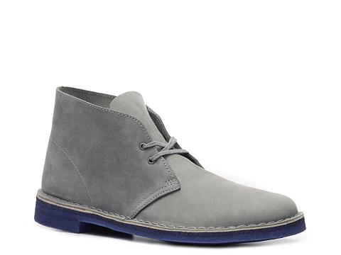 Ghete Clarks Originals - Desert Boot - Grey/Blue