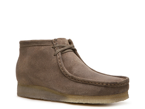 Pantofi Clarks Originals - Wallabee Chukka Boot - Dark Taupe