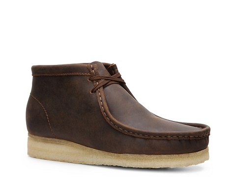 Ghete Clarks Originals - Wallabee Chukka Boot - Brown Leather