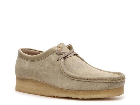 Ghete Clarks Originals - Wallabee Low Boot - Beige